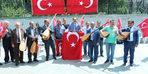 Halk ozanlarından dolar protestosu