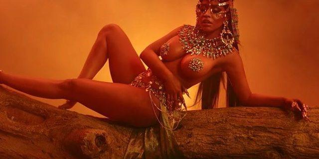 Mert Alaş Nicki Minaj'a klip çekti