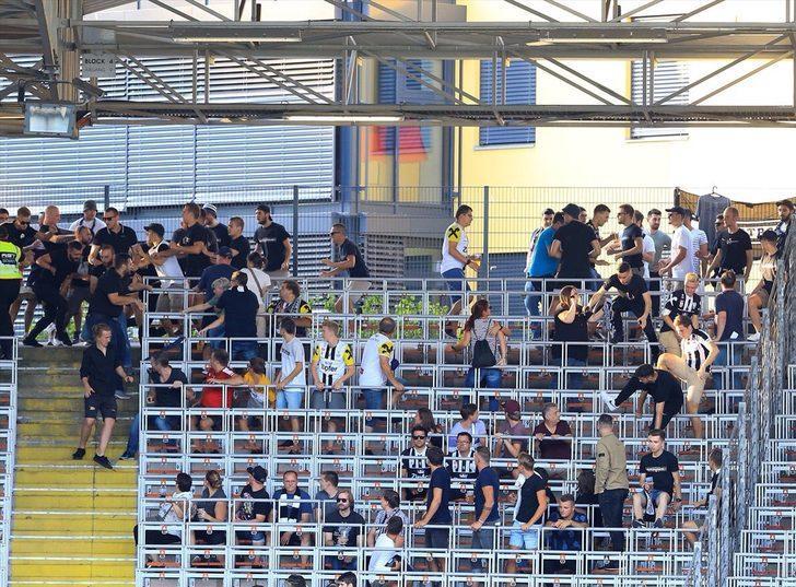 LASK Linz - Beşiktaş maçı öncesi olaylar çıktı!