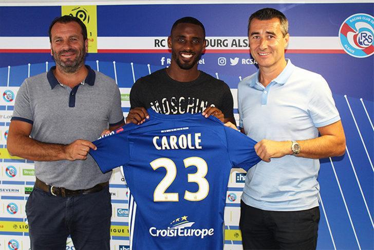 LIONEL CAROLE | Galatasaray > Strasbourg | Bonservis bedeli: 750 bin euro