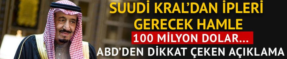 Suudi Kralı'ndan YPG'ye 100 milyonluk destek