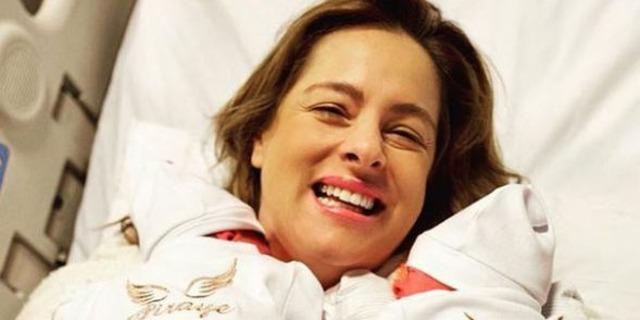 Doğa Rutkay üç haftalık ikizlerinden, oğlu Rutkay Kerim'i sünnet ettirdi