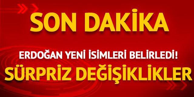 Erdoğan yeni üyeleri belirledi! Sürpriz değişiklikler