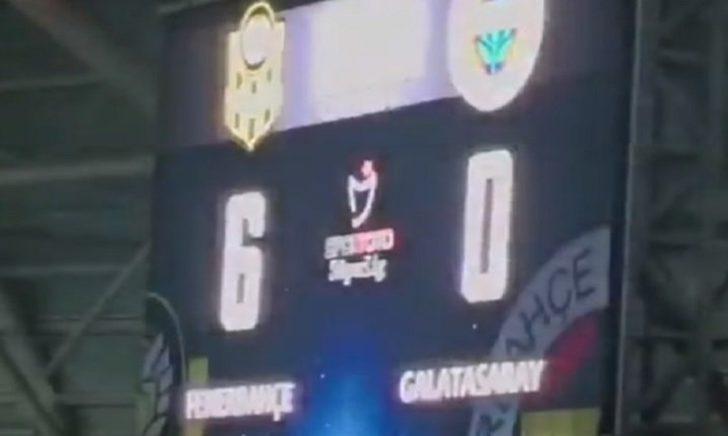 Yeni Malatyaspor-Fenerbahçe maçında G.Saraylıları çıldırtan olay!