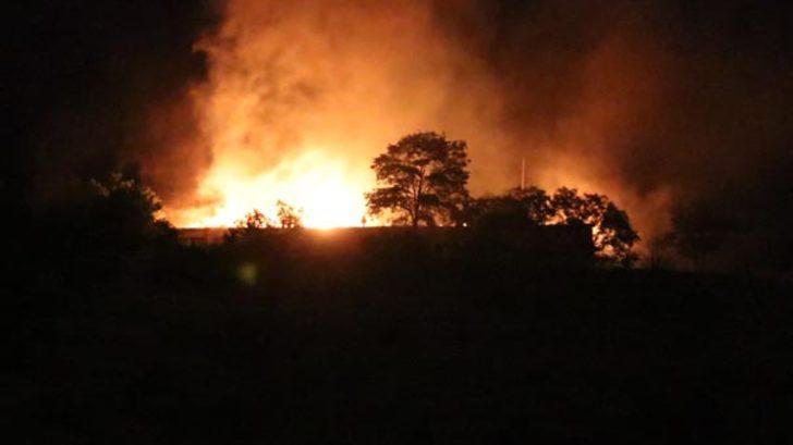Erzincan'da 3'üncü Ordu Komutanlığı'nda yangın paniği! Çok sayıda itfaiye ekibi sevk edildi!