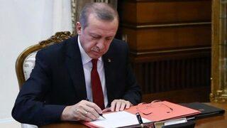 Erdoğan'dan yeni atama kararları!