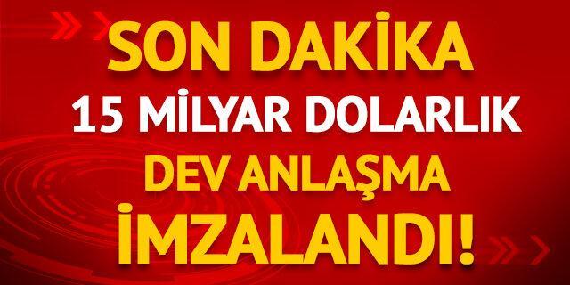 Türkiye ve Katar imzaları attı!
