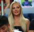 Galatasaray - Göztepe maçını Malene Pedersen de tribünden takip etti!