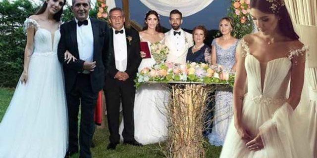 Yavuz Bingöl'ün mutlu günü! Kızı Türkü Bingöl evlendi