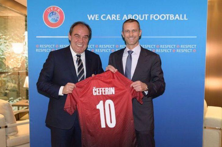 TFF, UEFA Kongresi'nde Aleksander Ceferin'i destekleyecek!