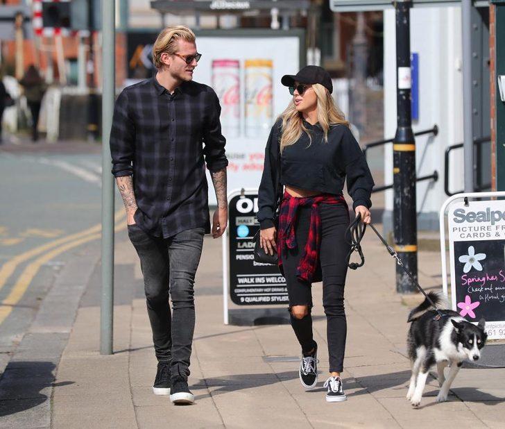 Beşiktaş'ın yeni kalecisi Alman Loris Karius'un sevgilisi, İngiliz Daniella Grace dünyaca ünlü bir model...
