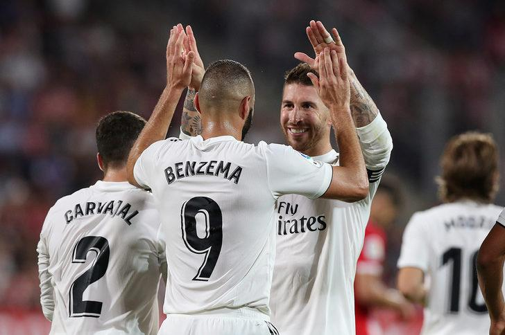 Girona 1 - 4 Real Madrid (Maç özeti)
