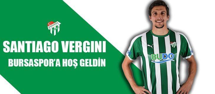 Santiago Vergini resmen Bursaspor'da