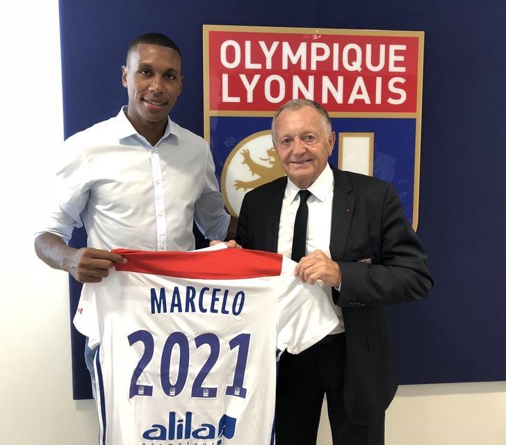 Lyon Marcelo'nun sözleşmesini 2021'e kadar uzattı