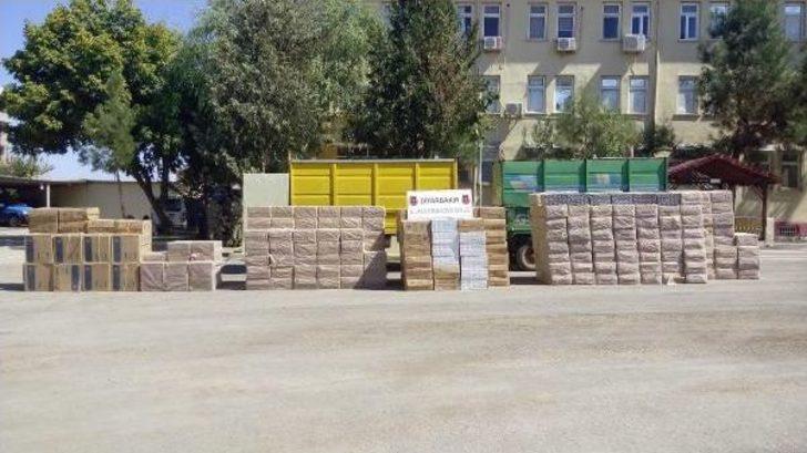 Diyarbakır'da 165 Bin Paket Kaçak Sigara