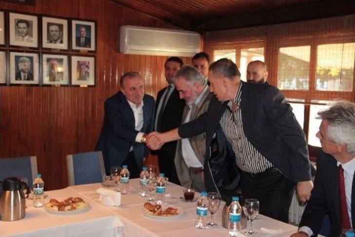 Ak Parti Milletvekili Babuşcu, Kadıköy'de Mali Müşavirler İle Bir Araya Geldi