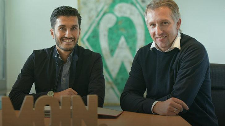 Nuri Şahin'in yeni takımı Werder Bremen oldu
