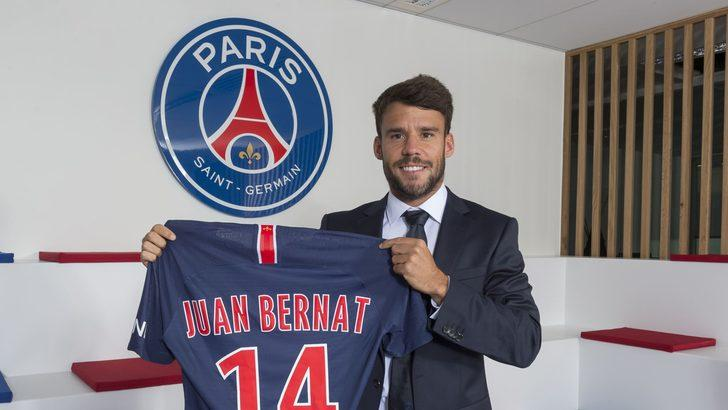 PSG Juan Bernat ile 3 yıllık sözleşme imzaladı