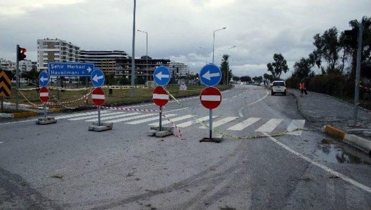 Antalya'da Fırtınanın Ardından