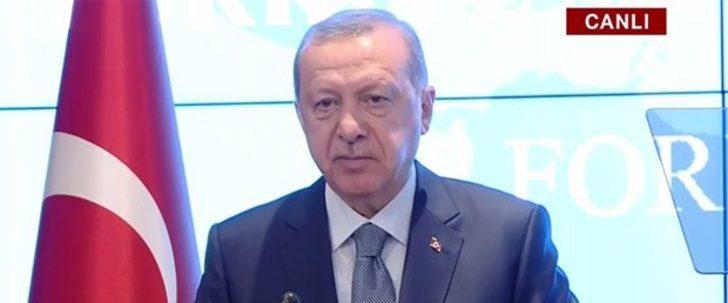 Cumhurbaşkanı Erdoğan'dan Kırgızistan'da dolar açıklaması: Yavaş yavaş son vermek gerekiyor