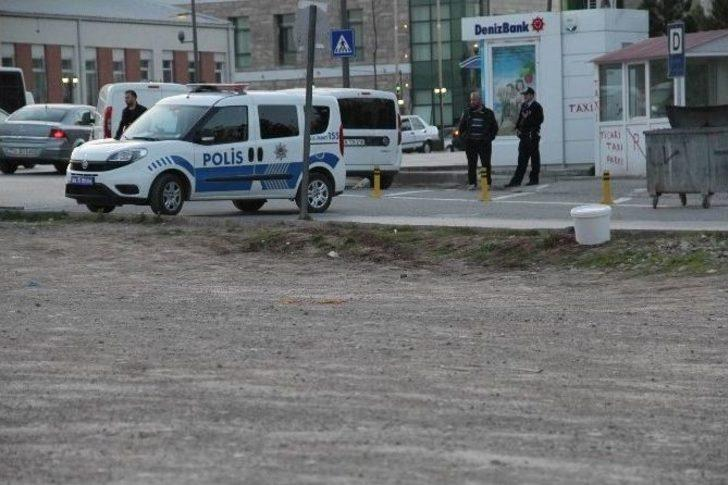 Jandarma Binası Yakınındaki şüpheli Boya Kovası Paniğe Neden Oldu