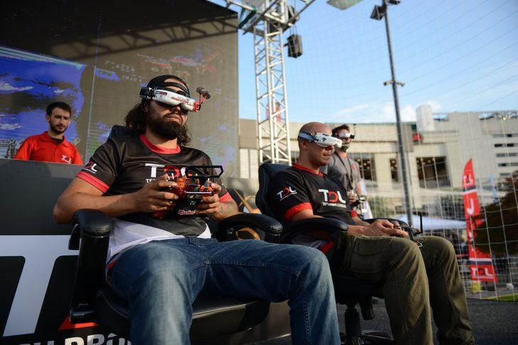 GameX 2018'de her boydan drone Dronemanya etkinliğinde yarışacak