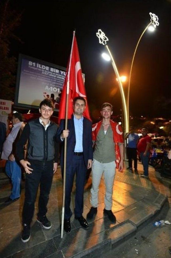 Başkan Eroğlu'ndan 'demokrasi Ve Şehitler Mitingi'ne Davet