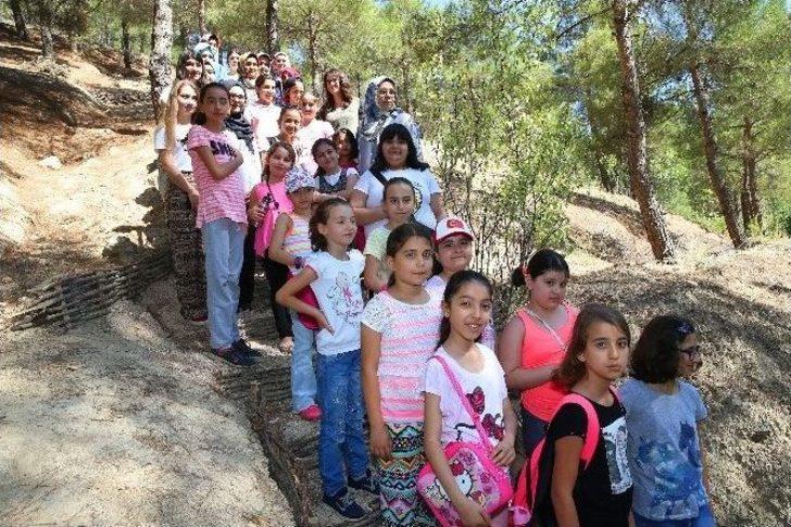 Tokat'ta Çocuklara 'doğa Parkuru'