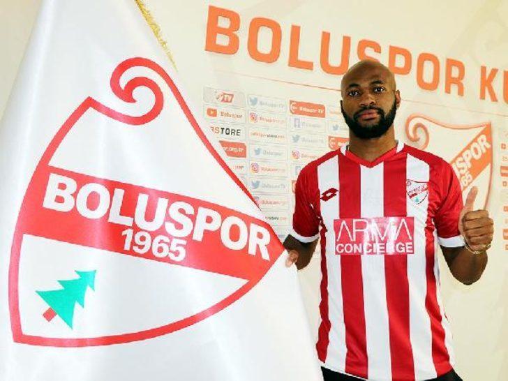 Franck Etoundi resmen Boluspor'da