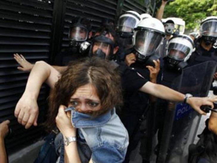 Taksim Gezi Parkı'ndaki şiddete kınama