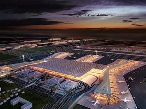 Ulaştırma ve Altyapı Bakanı Cahit Turhan, hizmete girdiğinde dünyanın en büyüğü olacak İstanbul Yeni Havalimanı'nda yer almak için UPS, DHL, FedEx gibi kargo şirketlerinin başvuruda bulunduğunu belirtti.