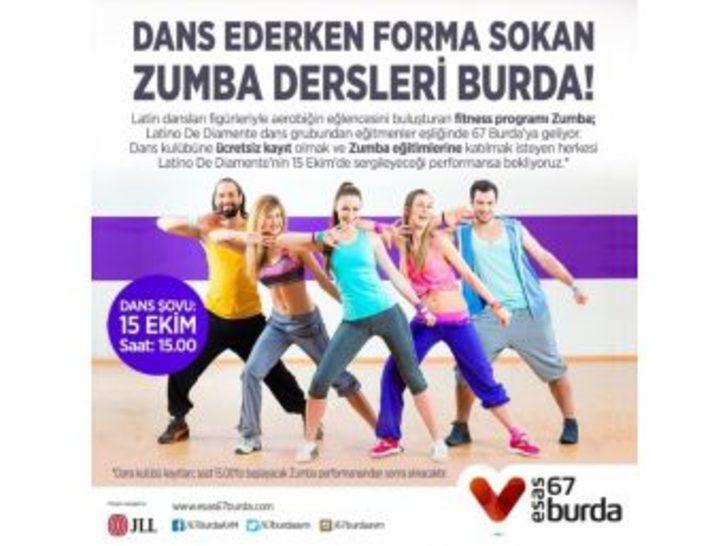 Dans Ederken Forma Sokan Zumba Dersleri