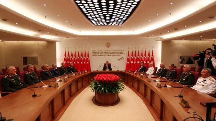 Yüksek Askeri Şura (YAŞ) kararları açıklandı