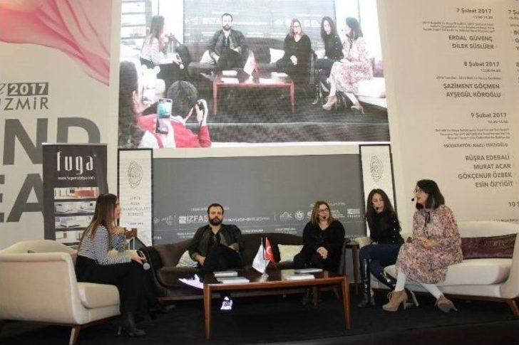 07b01c7755177 Genç Tasarımcılar Başarı Öykülerini Anlattı. İzmir Moda Tasarımcıları  Derneği tarafından IF ...
