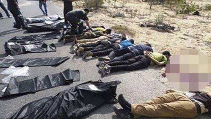 Mısır'da dehşet veren infaz görüntüleri