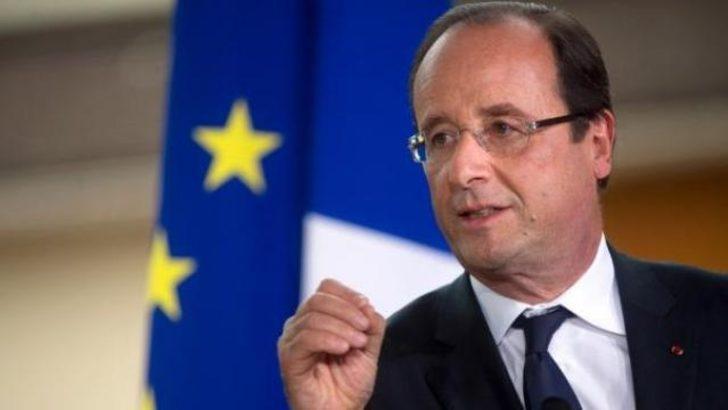 Hollande, Suriye'ye müdahale için tarih verdi