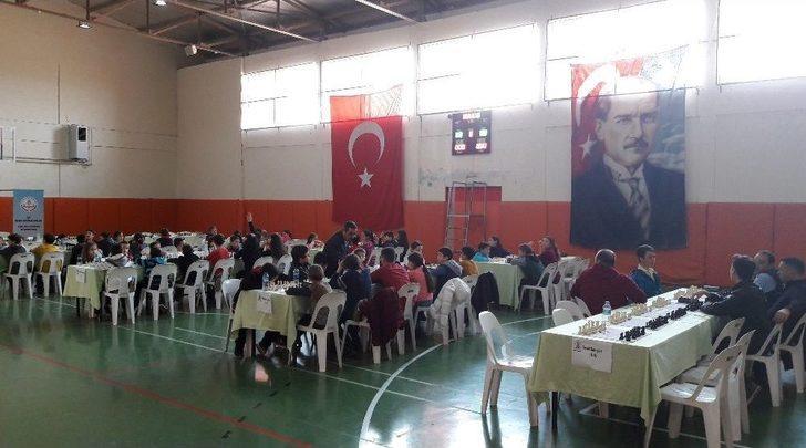 'hamle Sırası Enez'de' Satranç Turnuvası Büyük İlgi Gördü