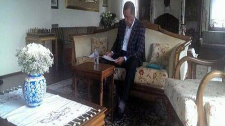 Başbakan Erdoğan baba ocağında!