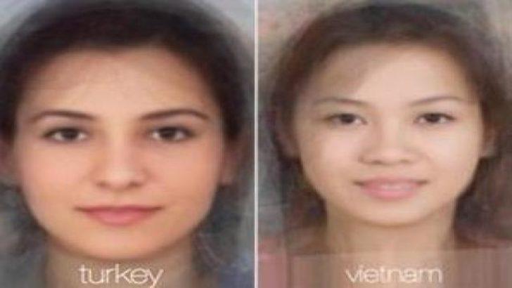 Ülke ülke kadın yüzleri