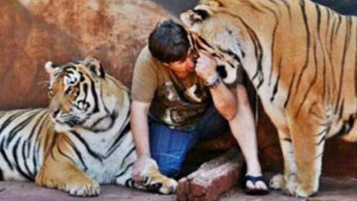 Kaplanlarla aynı evde yaşıyorlar