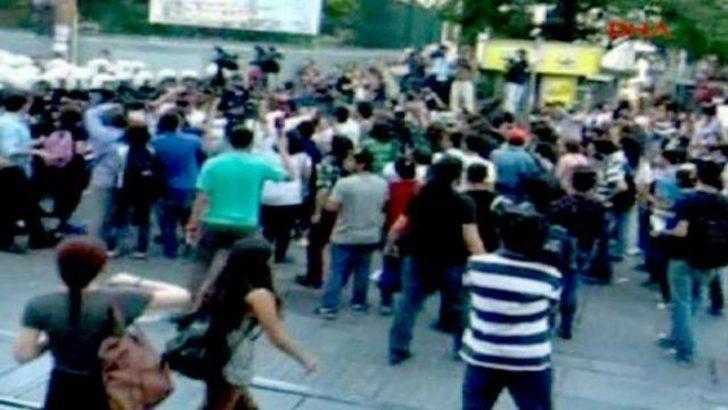 Beyoğlu'nda polisten gazlı müdahale