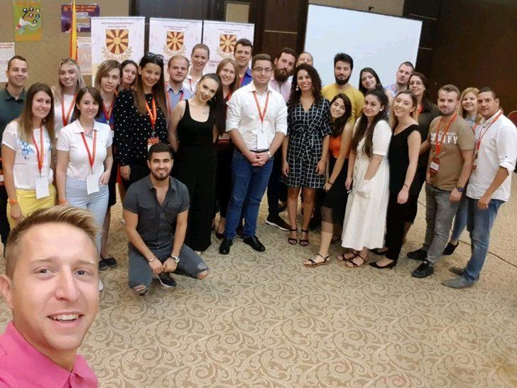 DAÜ akademisyeni Makedonya'da genç liderlere eğitim verdi