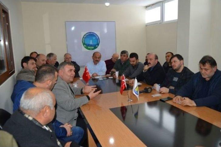 Fadef'ten Fatsa'da İlk Toplantı