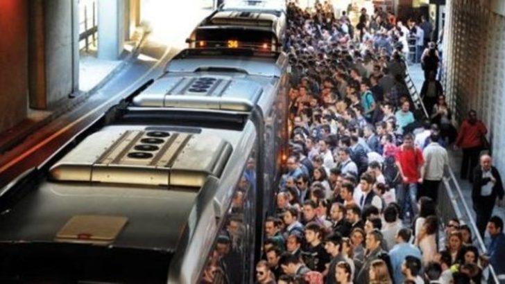 Metrobüste tacize hapis cezası