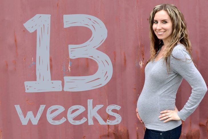 Hamilelikte 13. hafta