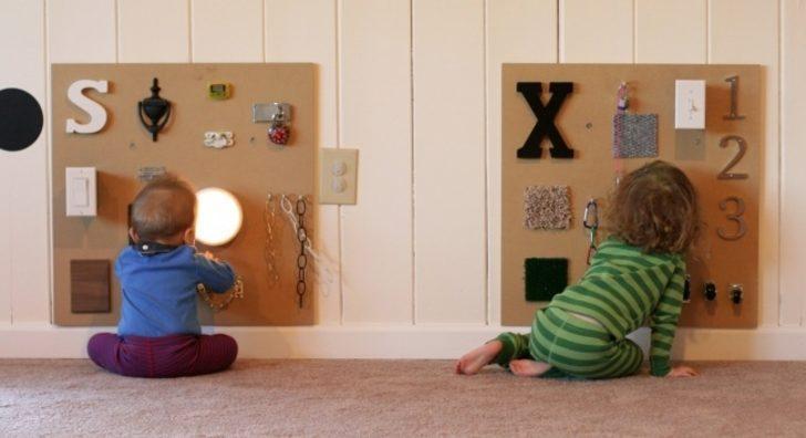 Bu yaratıcı baba çocuğunu meşgul edebilmek için harika bir fikir bulmuş