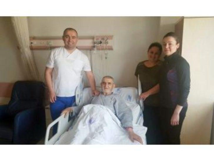 Hastanın Ayağı Kesilmekten Kurtarıldı