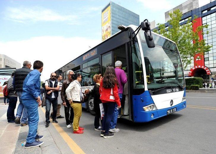 Ego Otobüsleri, Metro Ve Ankaray 15 Temmuz'da Ücretsiz Hizmet Verecek