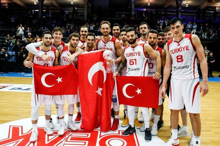 A Milli Erkek Basketbol Takımı, Super Cupta şampiyon oldu 43