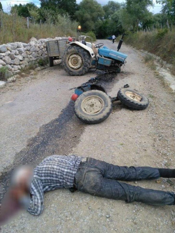 Sinop'ta Traktör Kazası: 1 Yaralı